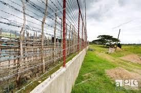 Barbwire Fence In The Iwahig Prison And Penal Fram In Puerto Princesa Palawan Philippines Stock Photo Picture And Rights Managed Image Pic Zq6 2168051 Agefotostock