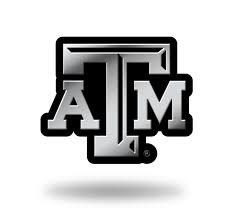 Texas A M Aggies Logo 3d Chrome Auto Decal Sticker New Truck Car Rico 94746802868 Ebay