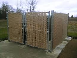 Commercial Dumpster Enclosures Enhance The Beauty And Satisfy Town Codes Straight Line Fence