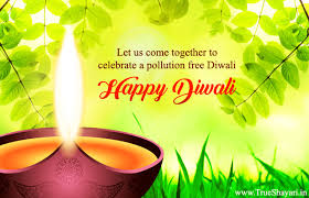 eco friendly diwali quotes images pollution safe