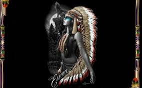 essence of a native american woman