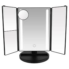 touch screen tri fold led lighted