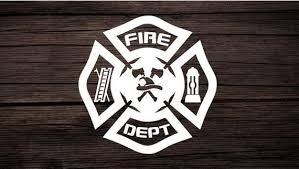 Fire Department Decal Firefighter Decal Fire Logo Decal Etsy
