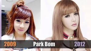 2ne1 now vs then k pop stars before