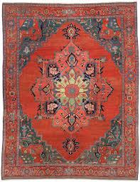 Antique Serapi carpet, Persia - Farnham Antique Carpets
