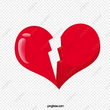 القلب المكسور القلب حب مكسور Png وملف Psd للتحميل مجانا