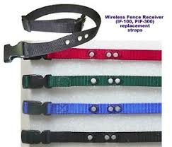 Wireless Fence Receiver If 100 Pif 300 Replacement Collar Strap 3 4 Nylon Ebay