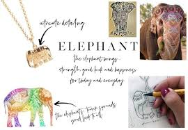 the meaning behind the elephant