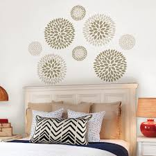 Flowers Wall Decals Wall Decor The Home Depot