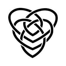 Celtic Motherhood Knot Vinyl Sticker