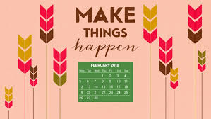 february 2018 hd calendar wallpapers
