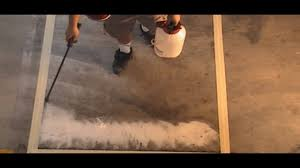 and how do you etch concrete safely