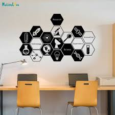 Science Technology Innovation Wall Decal Creative Vinyl Stickers Student Inspirational Vinyl Art For Nursery Classroom Yt1814 Wall Stickers Aliexpress