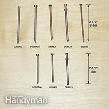 the letter d in nail sizes