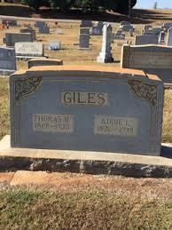 """Ada Lee """"Addie"""" Walker Giles (1876-1935) - Find A Grave Memorial"""
