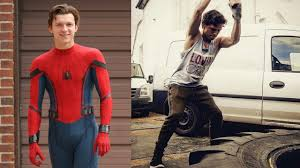 tom holland and workout