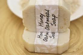 homemade honey oatmeal soap simple