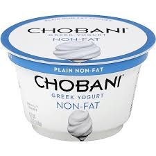 chobani yogurt greek non fat plain