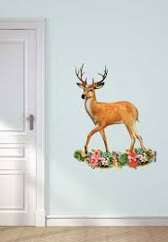 Wall Decal Dear With Antlers Wall Decal Van Ikke
