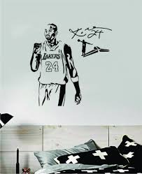 Kobe Bryant V1 Wall Decal Home Decor Sticker Art Vinyl Bedroom Room Qu Boop Decals