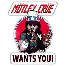 Sticker Motley Crue Wants You Muraldecal Com