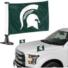 Michigan State University Car Accessories Hitch Covers Michigan State Spartans Auto Decals Bigtenstore Com