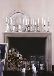 mercury glass candlesticks