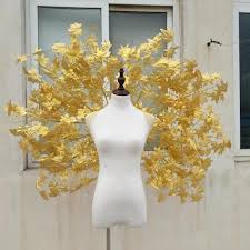 gold wings costume in