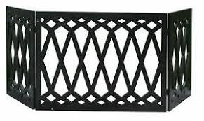 Diamond Freestanding Folding Pet Gate Wooden Home Indoor Outdoor Dog Fence Ebay
