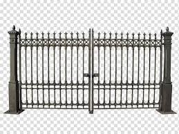 Gate Fence Iron Railings Transparent Background Png Clipart Hiclipart