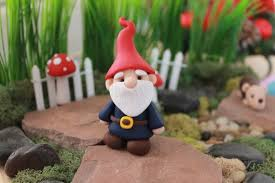 polymer clay traditional gnome