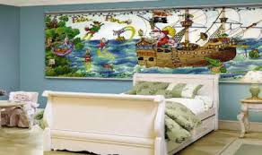 Peter Pan Wall Mural Minute Murals The Mural Store