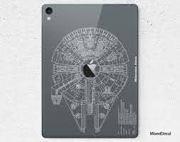 Star Wars Millennium Ipad 7 Skin Ipad Pro 12 9 Sticker New Etsy