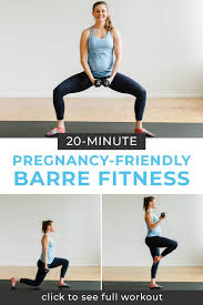 Barre Class At Home Workout Video ...