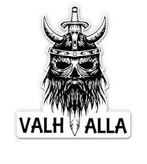 Gt Graphics Valhalla Viking Head Vinyl Sticker Waterproof Decal Car Sticker Wish