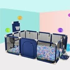 Baby Playpen Children Playpen Fence Ball Pit Pool Playground Indoor Football Ebay