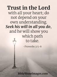 Proverbs 3:5-6 - Faith Bible Verse - Bible Verse Images