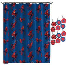 Marvel Spiderman Spidey Crawl Shower Curtain Wayfair