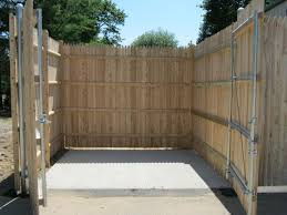 Main Line Fence Dumpster Enclosures Design And Installation In Maine