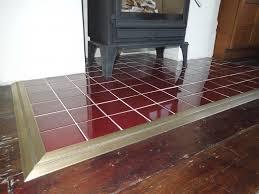 fire hearth edging floor trims