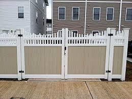 Vinyl Fencing Fence Deck Connection