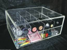 clear acrylic makeup organizers vanity