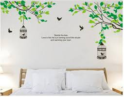 tree branch bird cage kids removable