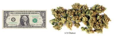 how much is a gram quarter half ounce