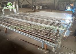 Mobile Temporary Fence Panels Stainless Steel Welded Wire Mesh Panels