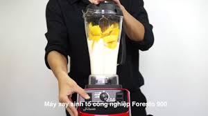 Máy xay sinh tố công nghiệp Foresto 900 - Xay cả đá viên - YouTube