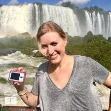 """Tandem Diabetes Care on Twitter: """"#tsliminthewild with Territory Manager Melody  Fox on the Brazilian side of Iguazu Falls! #peoplebehindthepump… """""""