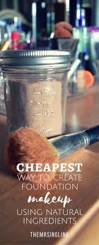 natural diy makeup foundation it s