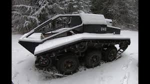 full sized all terrain tracked vehicle