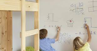 Forget A Whiteboard And Create A Diy Dry Erase Wall Hip2behome